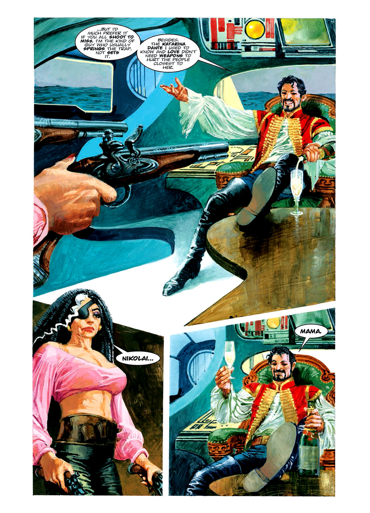 Read online Nikolai Dante comic -  Issue # TPB 6 - 120