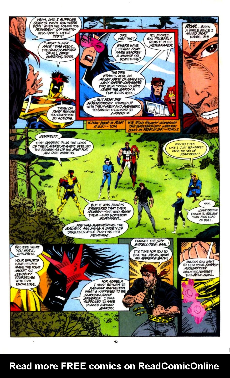 The New Warriors Issue #60 #64 - English 33