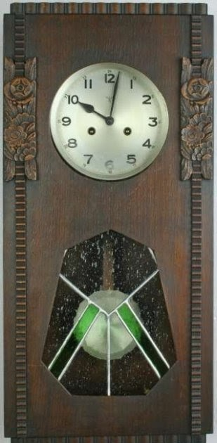German Wall Clock Mauthe 1822 1884 Antiques Art