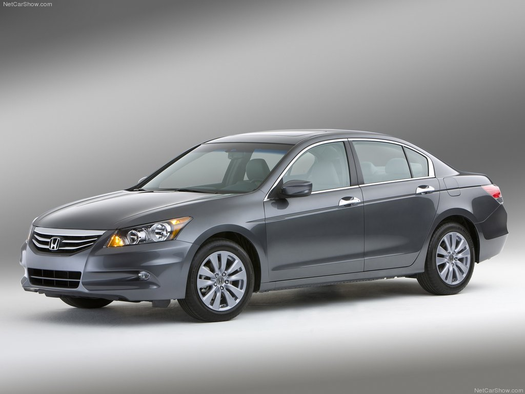 The EPA fuel-economy ratings for Honda Accord 4-cylinder sedan models  equipped with an automatic transmission improve ...