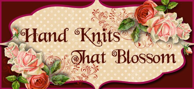 Hand Knits That Blossom