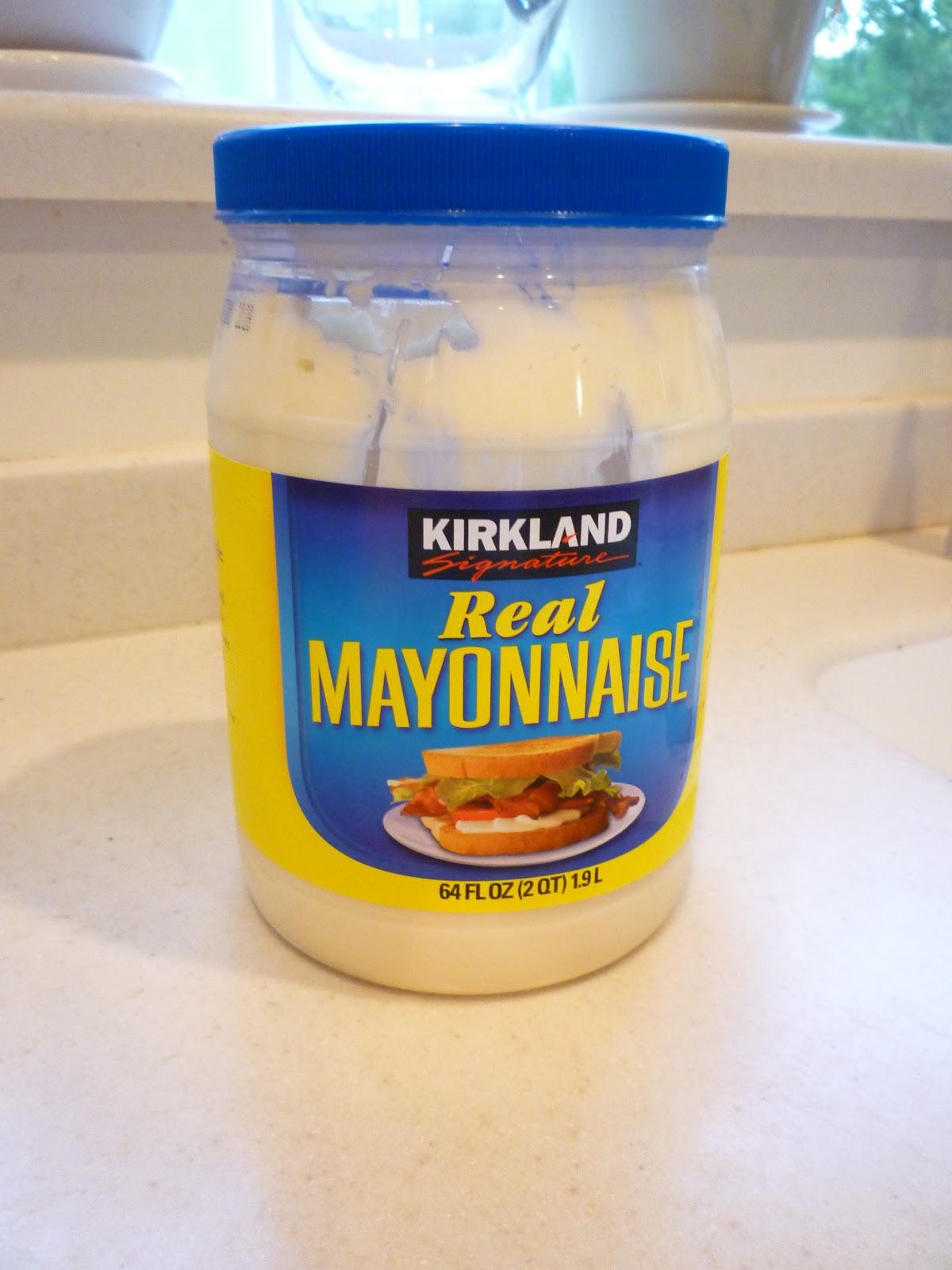Amazing Meals: Kirkland Brand Mayonnaise