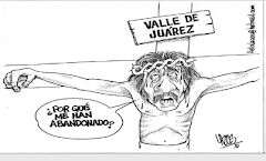 Cartoon in Diario Today:  Why Hast Thou Forsaken Me?
