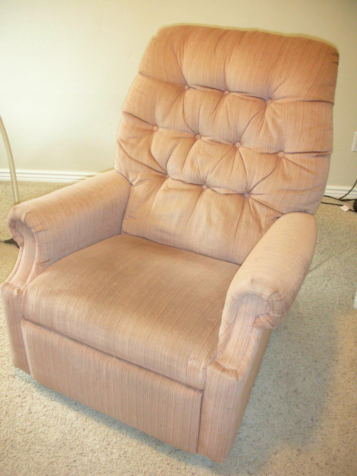 Lazy Boy Recliner Chair Ergonomic Back Do It Yourself Divas Diy Reupholster An Old La Z