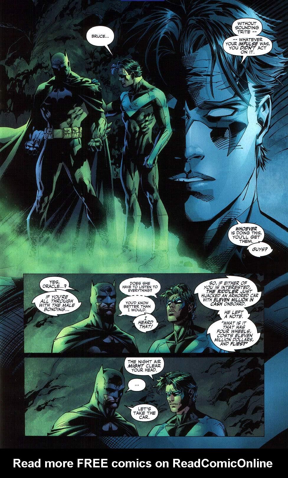 Read online Batman: Hush comic -  Issue #8 - 9