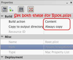ConceptDev (Craig Dunn's blog): MonoTouch Settings bundle