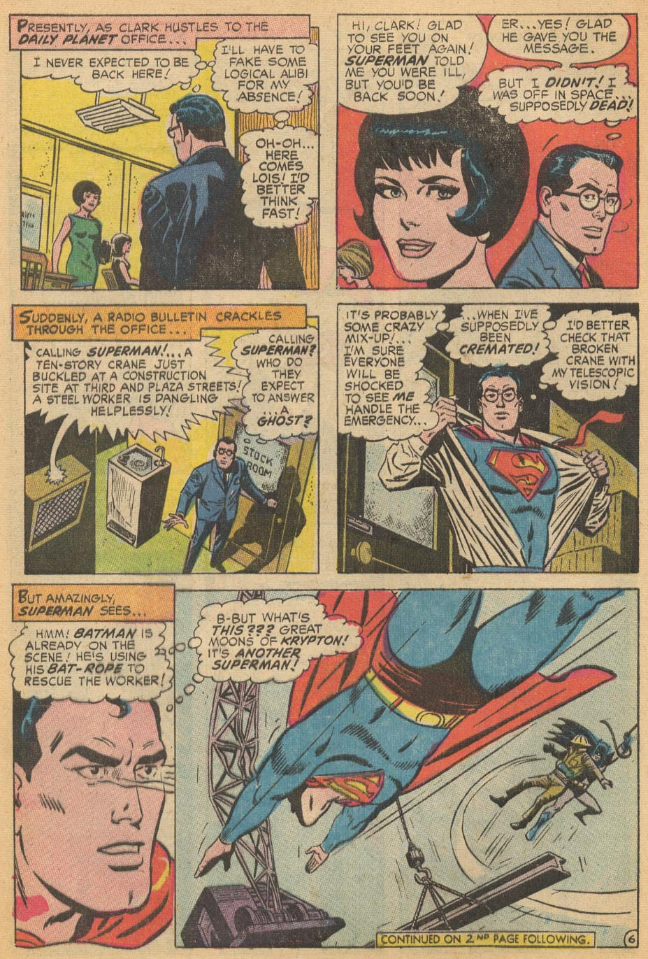Read online Action Comics (1938) comic -  Issue #366 - 8