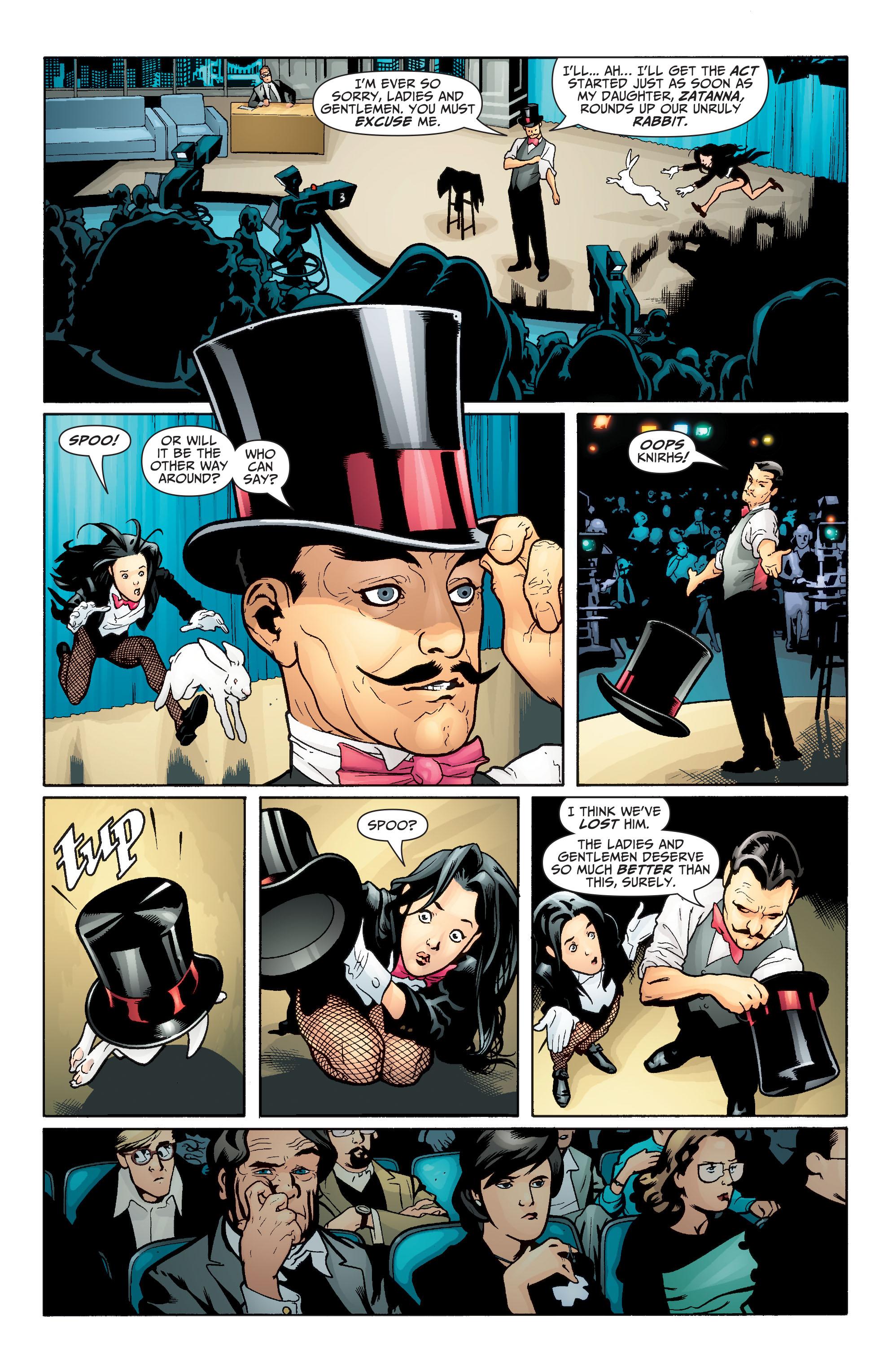 Read online Seven Soldiers: Zatanna comic -  Issue #1 - 3