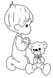 Cantinho Da Tia Roselinda Desenhos De Crianca Orando