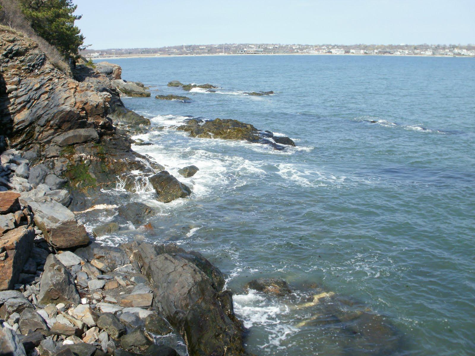 Rock Cliff Newport Rhode Island
