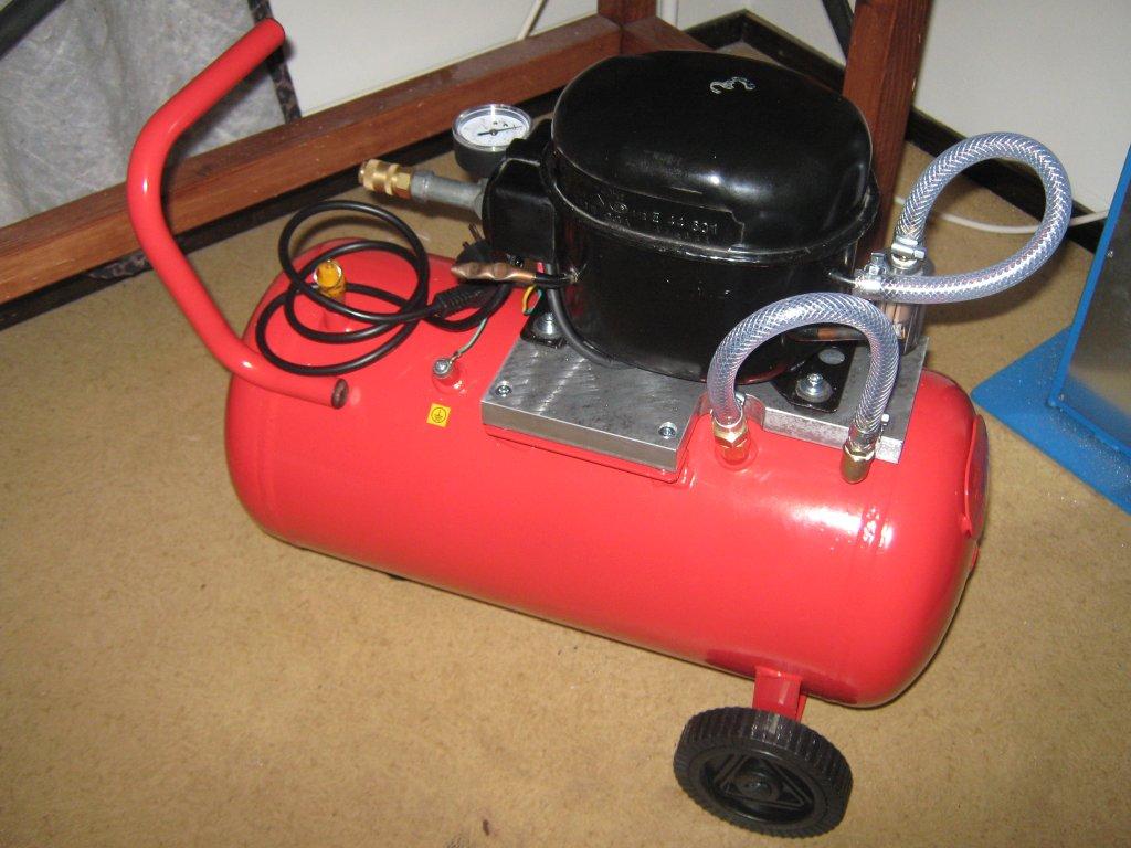 Home Shop Machinist Silent Air Compressor