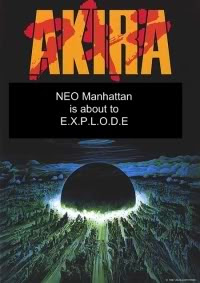 Akira - New Manhattan is about to explode!