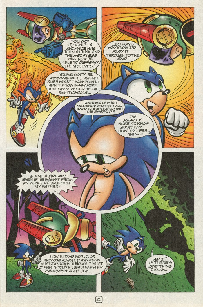 Read online Sonic Super Special comic -  Issue #12 - Sonic and Knuckles visa versa - 40