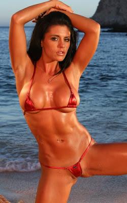 Fisting on beach