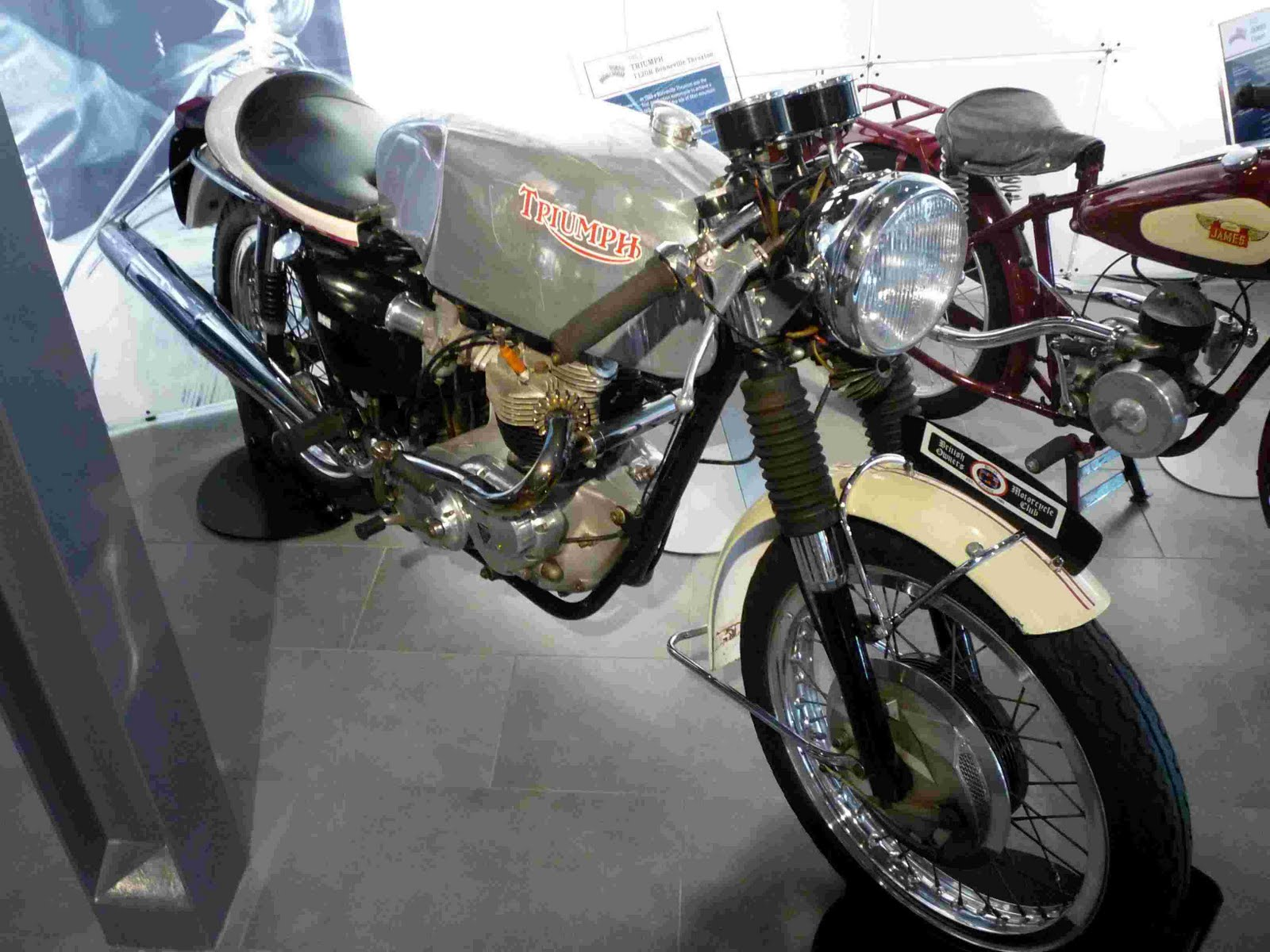 Bucky's Ride: Visit to the Deeley Motorcycle Exposition