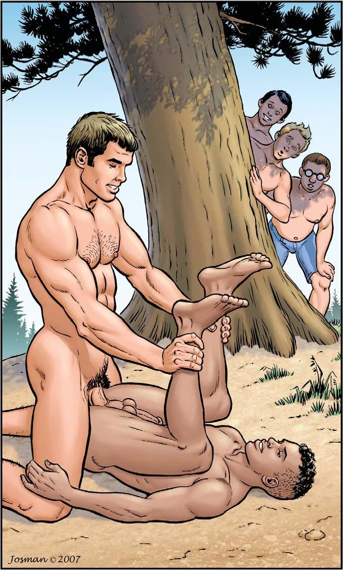 Hot gay tecknad sex