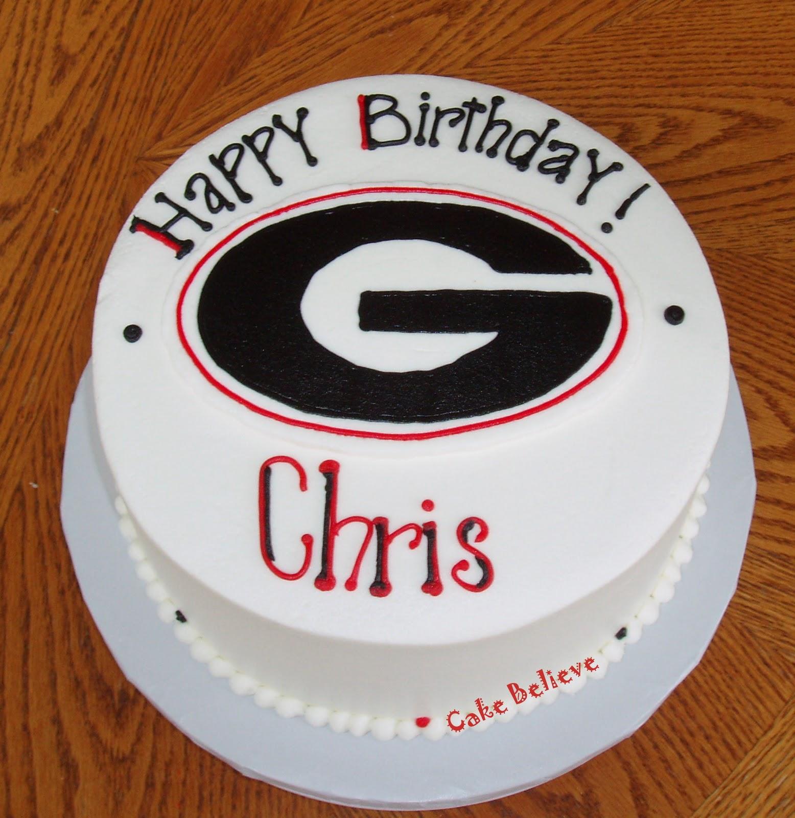 Cake Believe: University Of Georgia Birthday