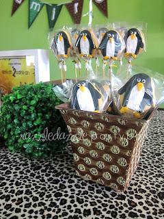 Theme Birthday Party Safari Madagascar