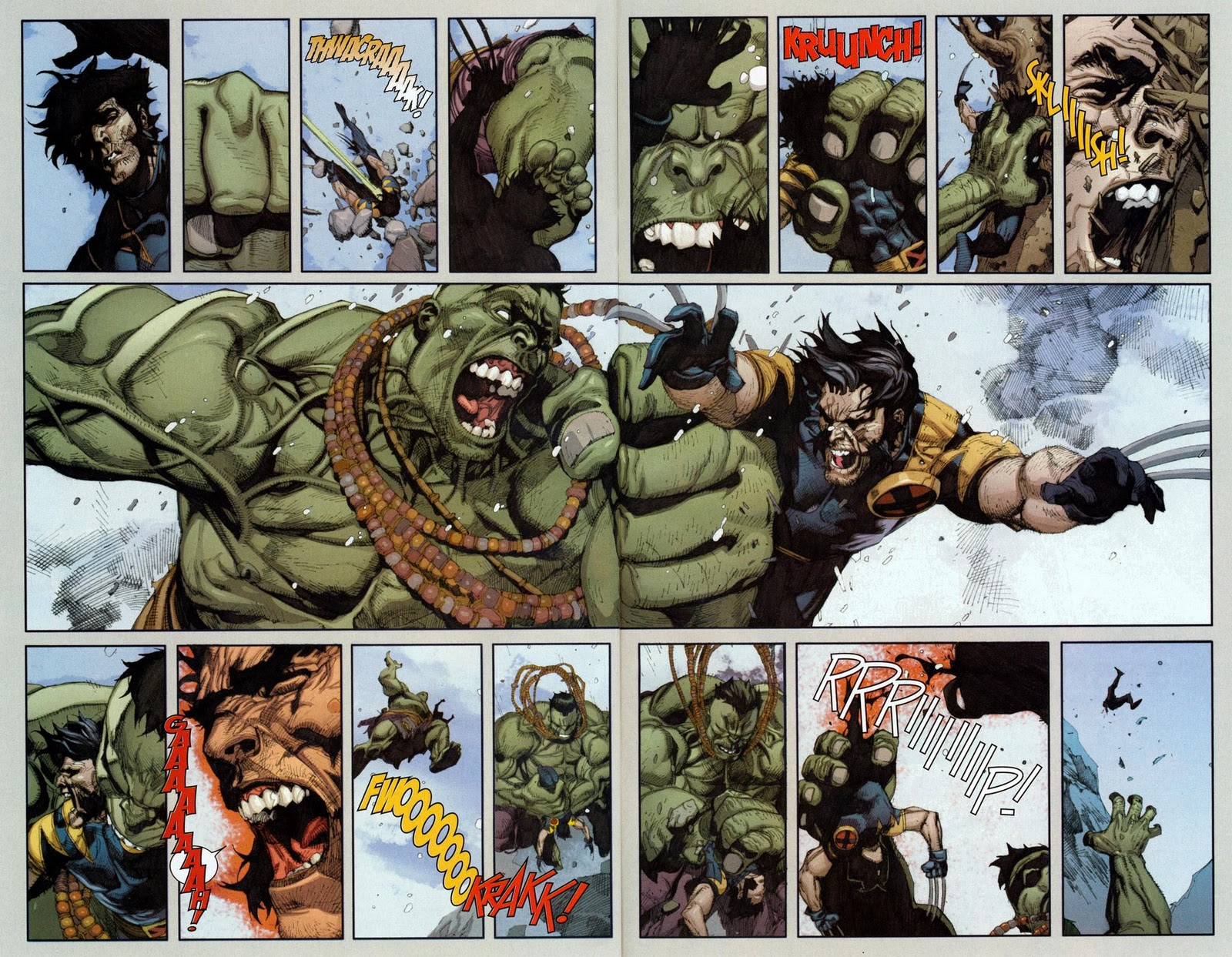 hulked out wolverine - HD2560×1949