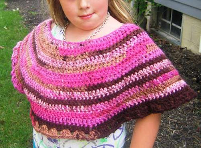 Easy Kids Poncho To Crochet The Crafty Mummy