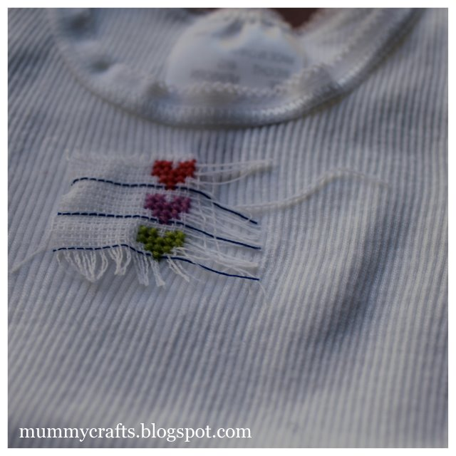 Baby singlet tutorial the crafty mummy negle