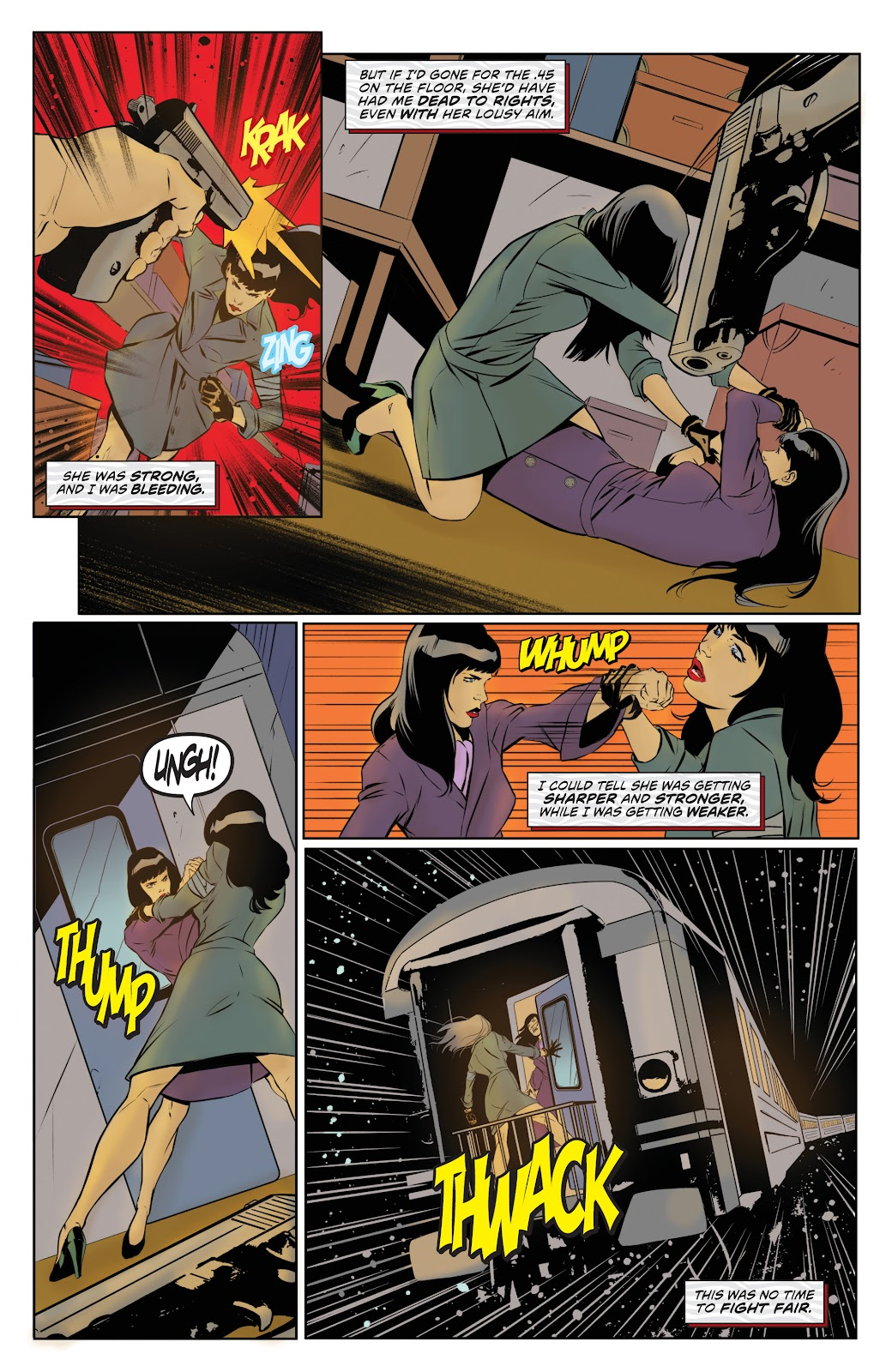 Read online Bettie Page: Unbound comic -  Issue #8 - 22