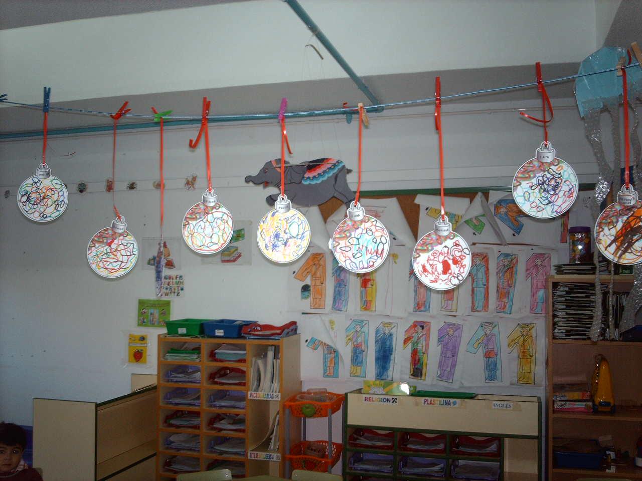 Mi aula de infantil decoraci n de la navidad - Como decorar un salon en navidad ...