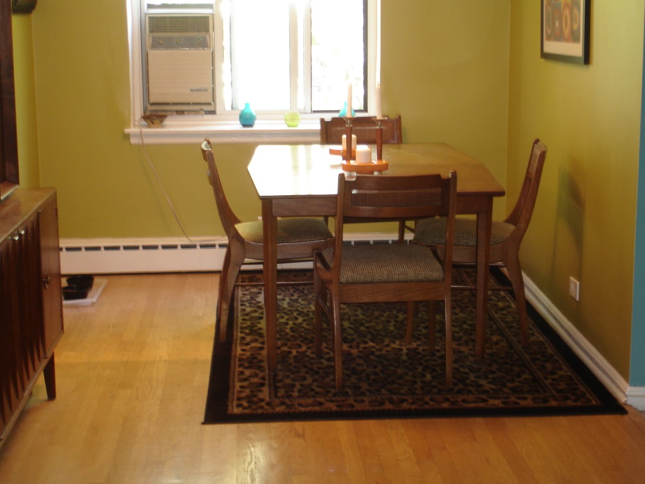 my dining room rug or no rug rugs under kitchen table My dining room rug or no rug