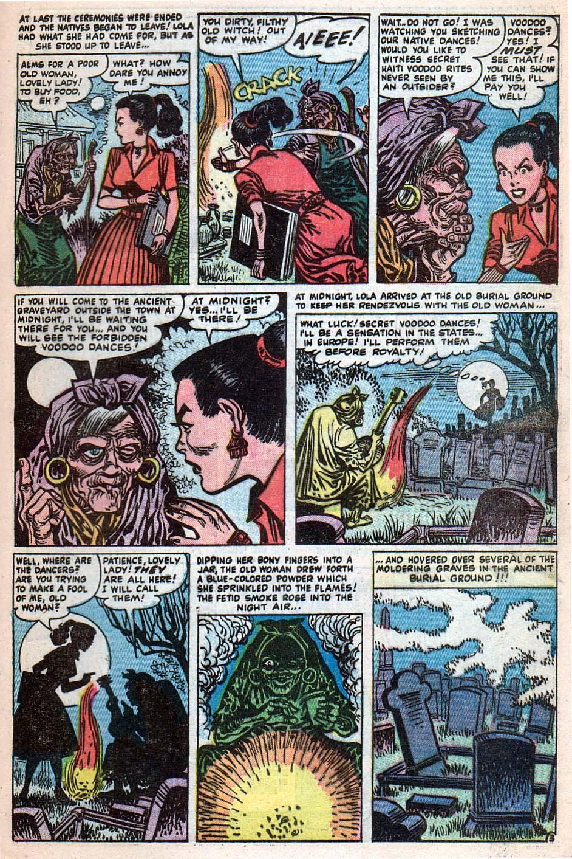 Read online Adventures into Weird Worlds comic -  Issue #25 - 10