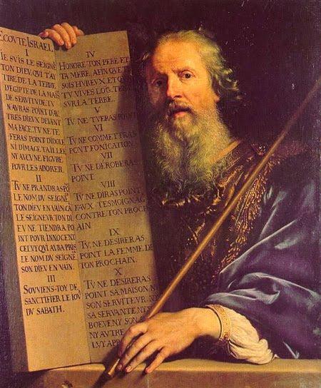 Encomienda de Barcelona: Personajes de la Biblia: Moisés