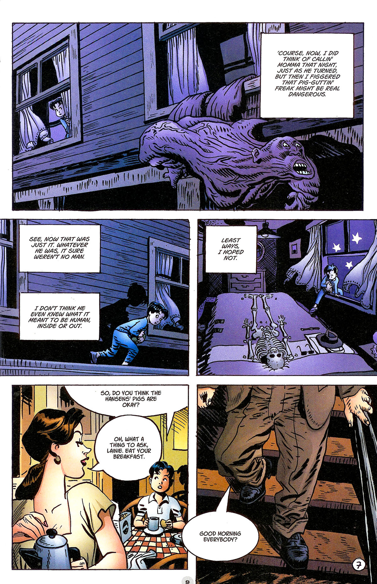 Read online Solo (2004) comic -  Issue #6 - 10