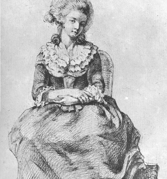Quelques épisodes de la Révolution Française: Mme de Tourzel et sa fille  rendent visite à madame Royale au Temple