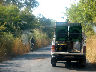 Preparations begin in the village of Tankanto Mauondé