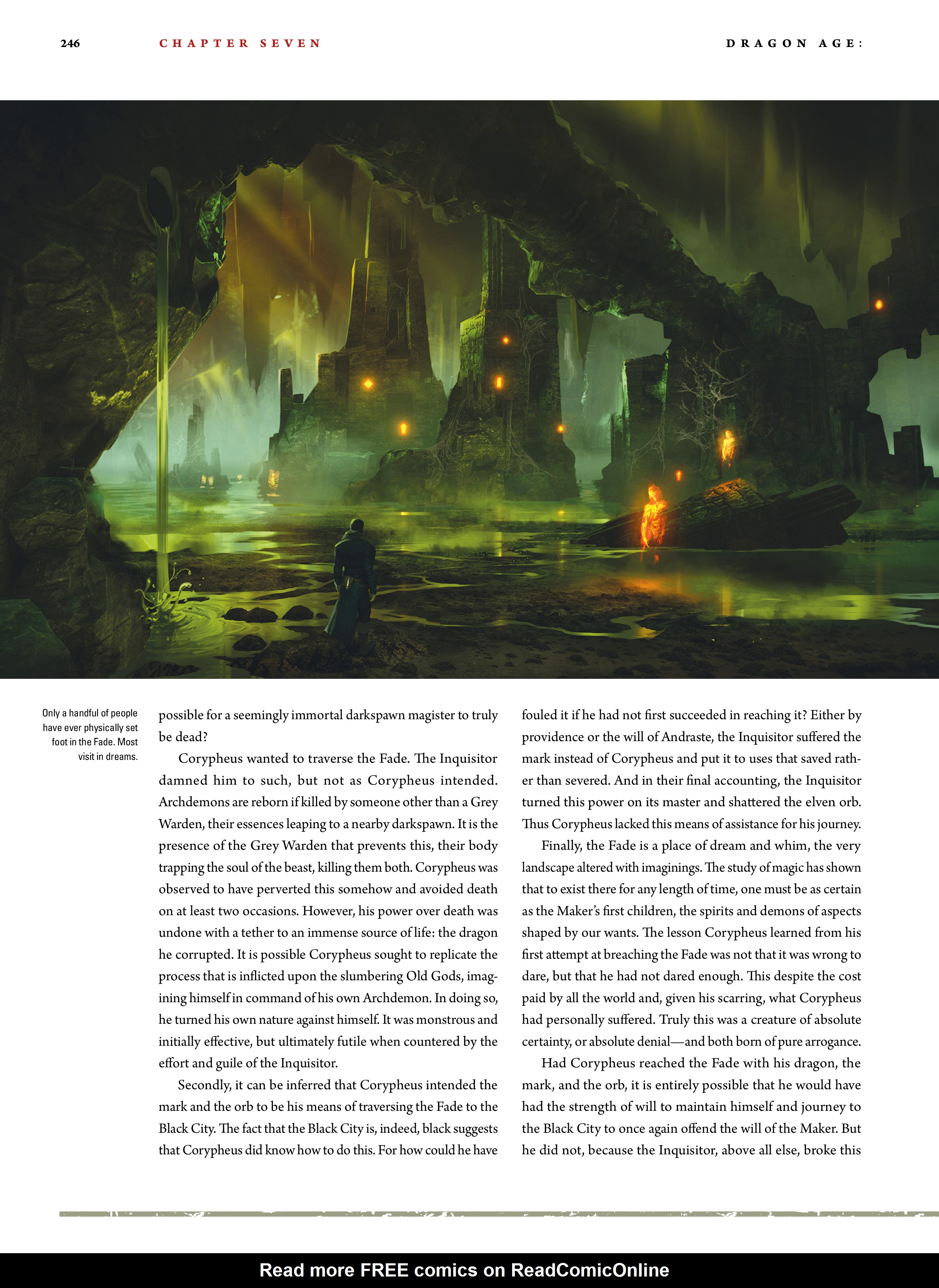 Read online Dragon Age: The World of Thedas comic -  Issue # TPB 2 - 240