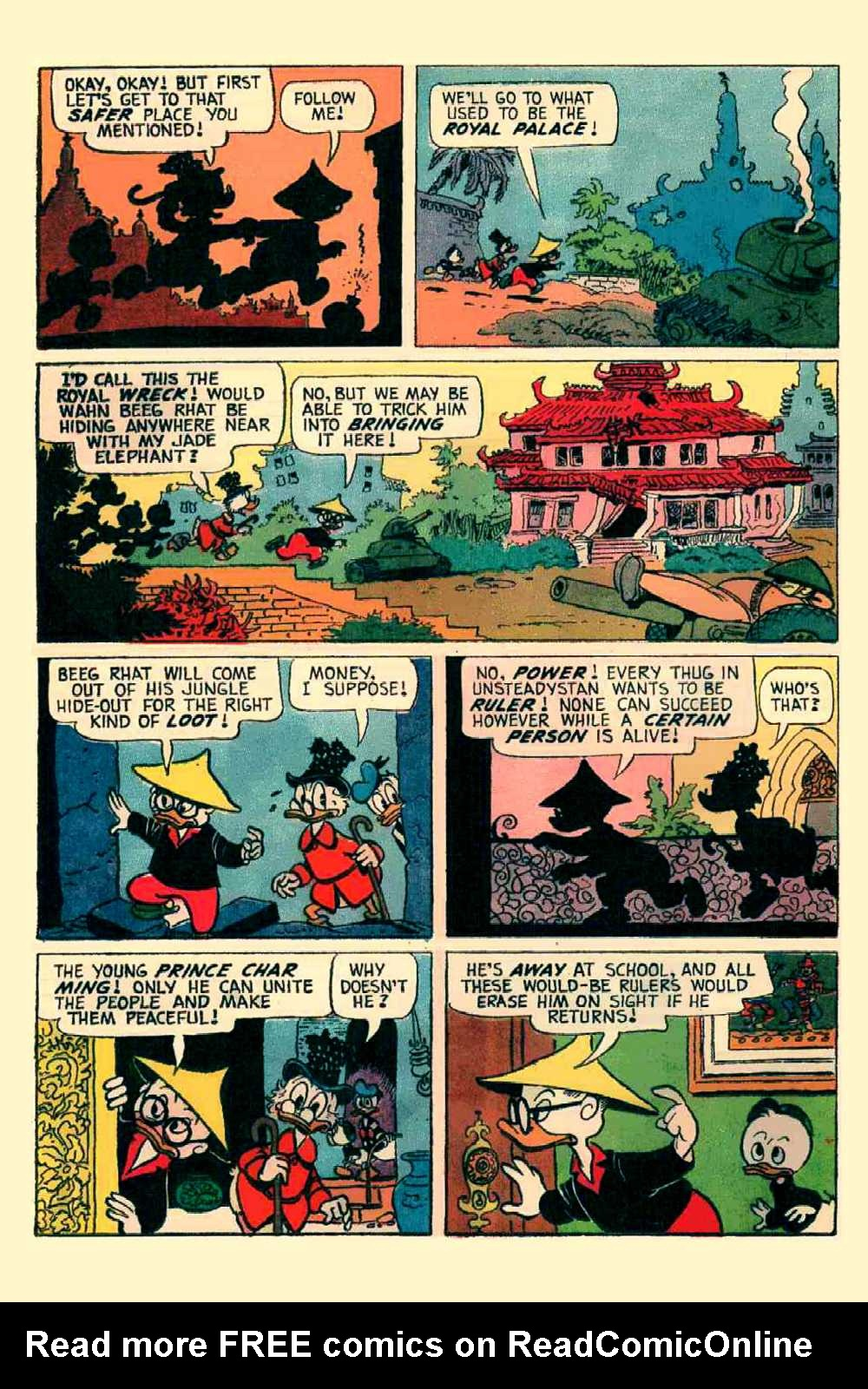 Read online Uncle Scrooge (1953) comic -  Issue #64 - 11