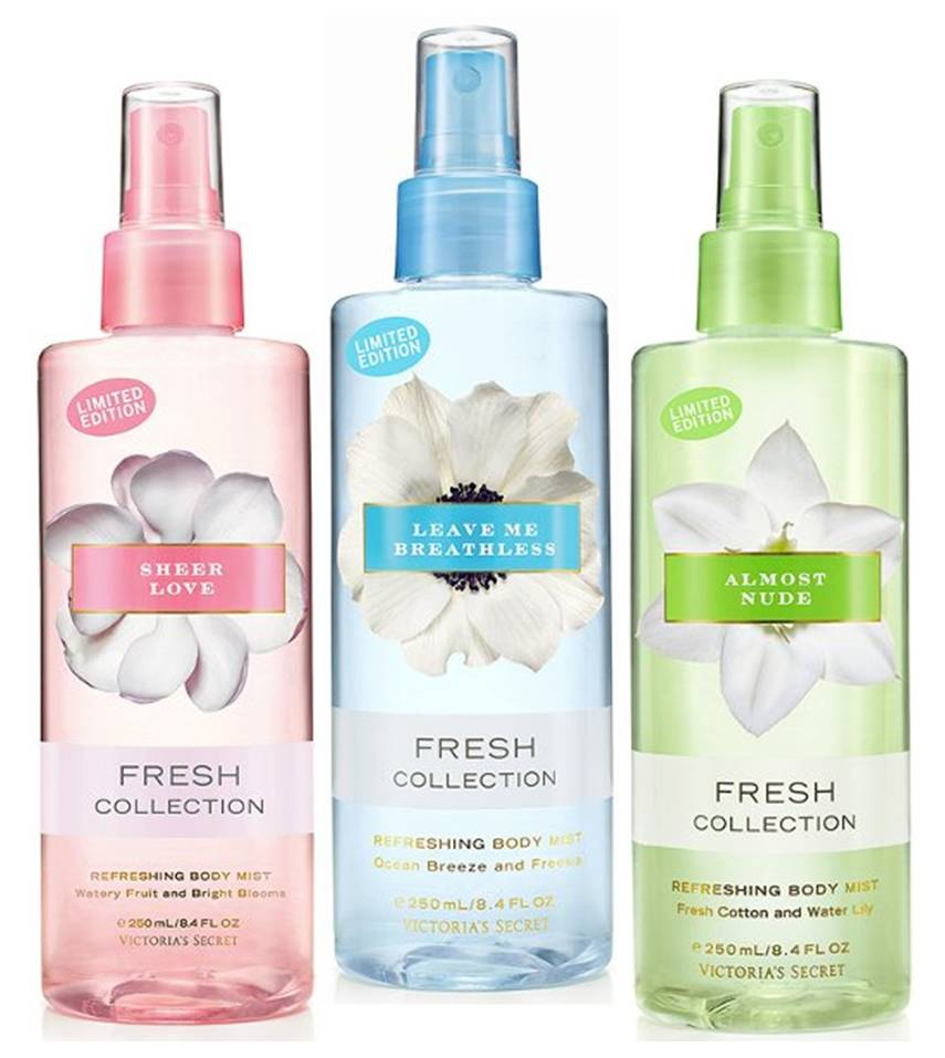 New From Victoria 39 S Secret Secret Garden Fresh Collection Beauty Addict