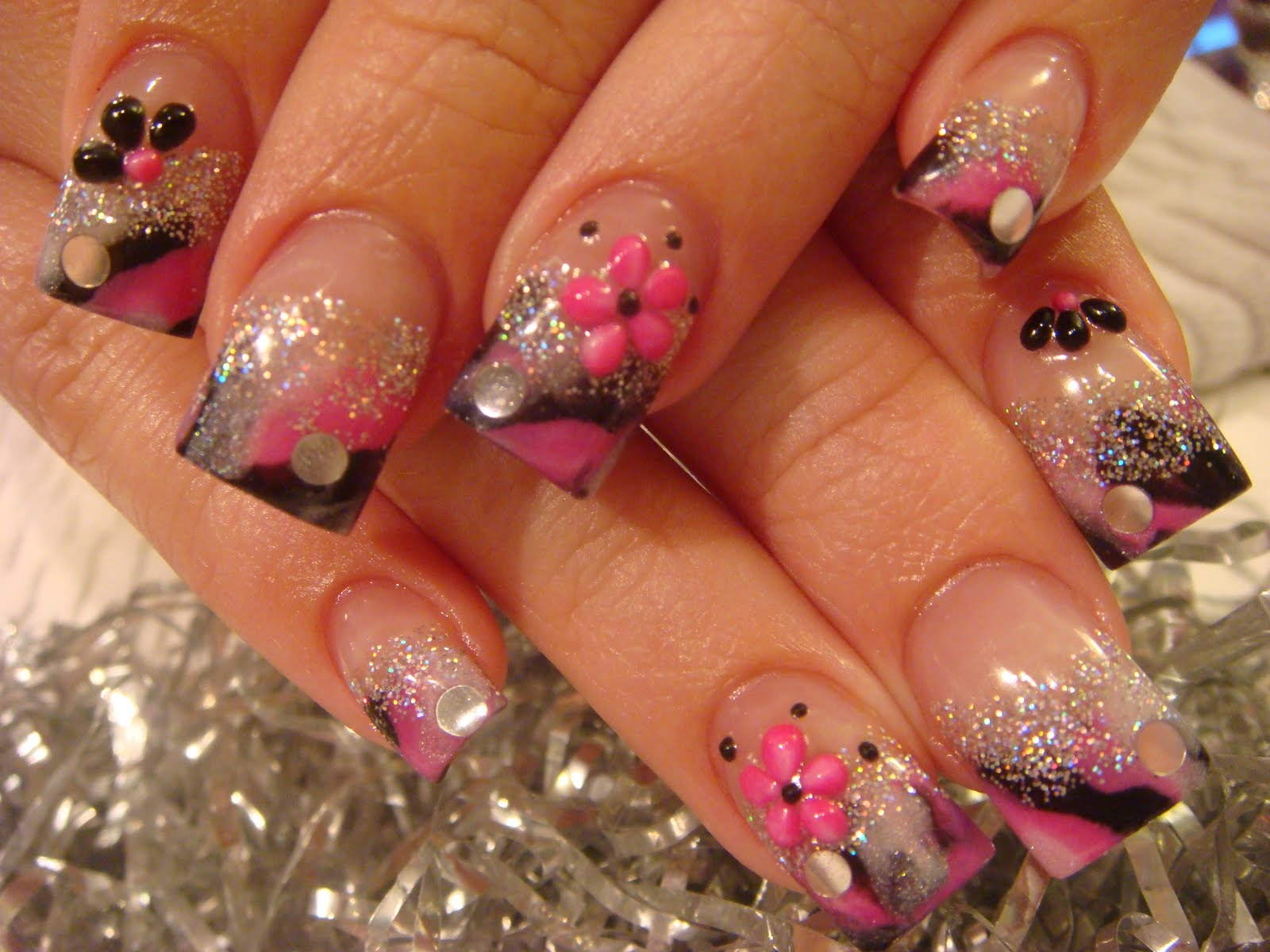 CRAZY, SEXY, COOL NAILS ACRYLIC