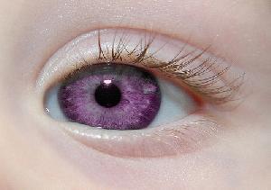 Purple Eye Mutation