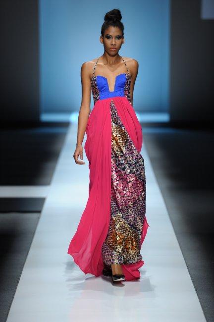 2010 Africa Fashion Week Christie Brown Koketso Chiepe