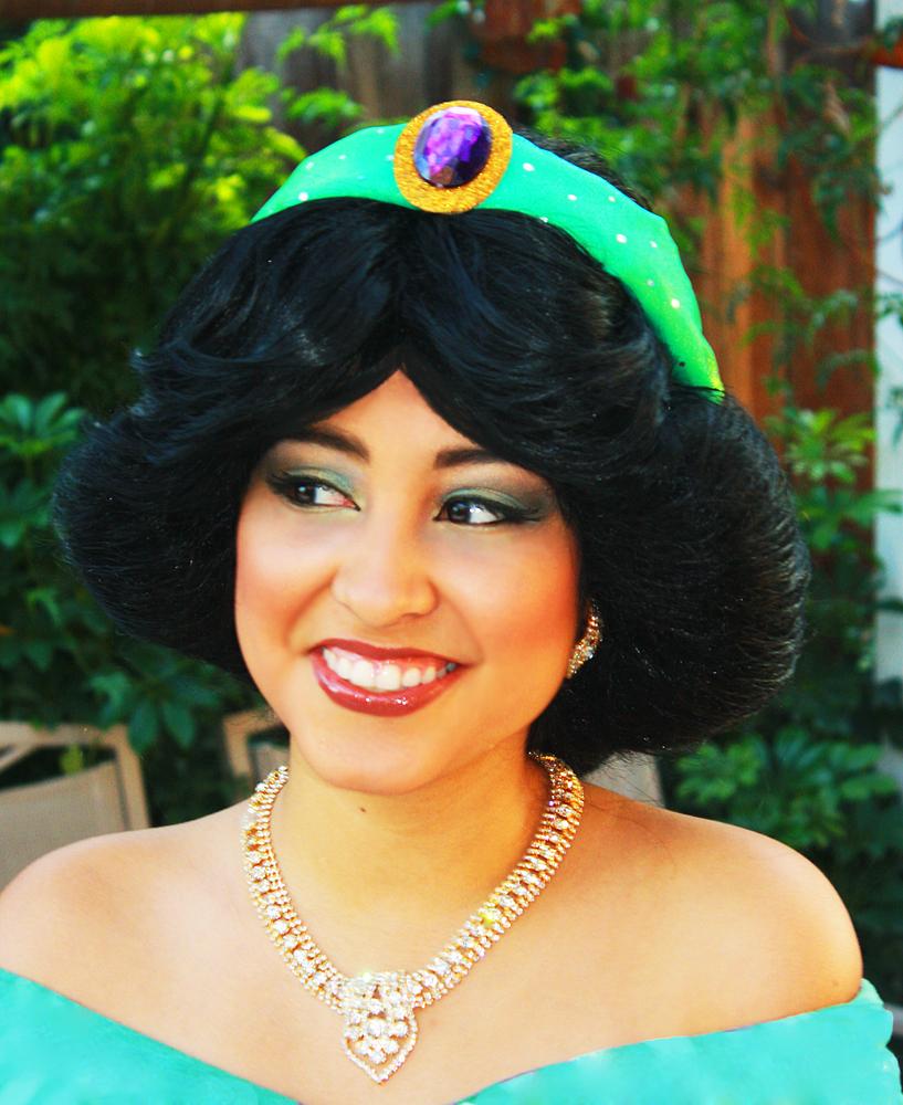 Jasmine: Makeup By MAK: Princess Jasmine Makeup Look