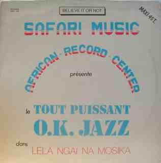 Franco et TPOK Jazz Restored: Lela Ngai Na Mosika (1985)