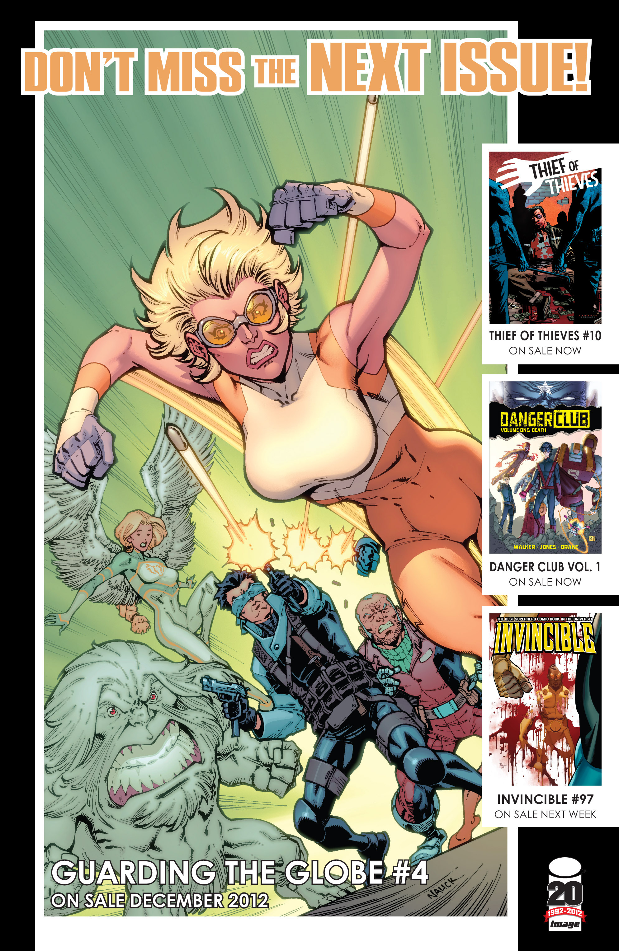 Read online Guarding the Globe (2012) comic -  Issue #3 - 24