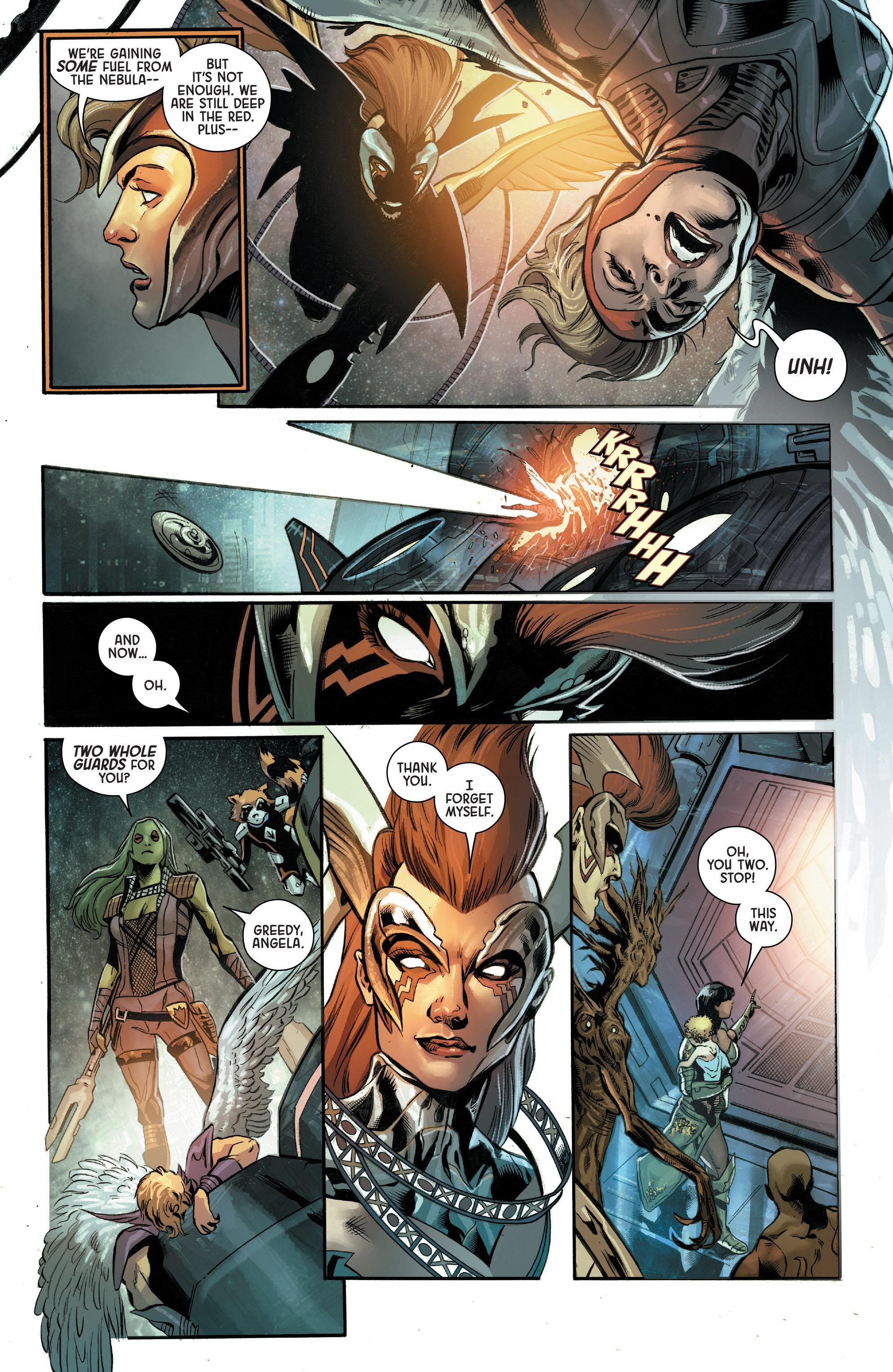 Read online Angela: Asgard's Assassin comic -  Issue #5 - 9