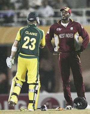 Michale Clarke - Chris Gayle