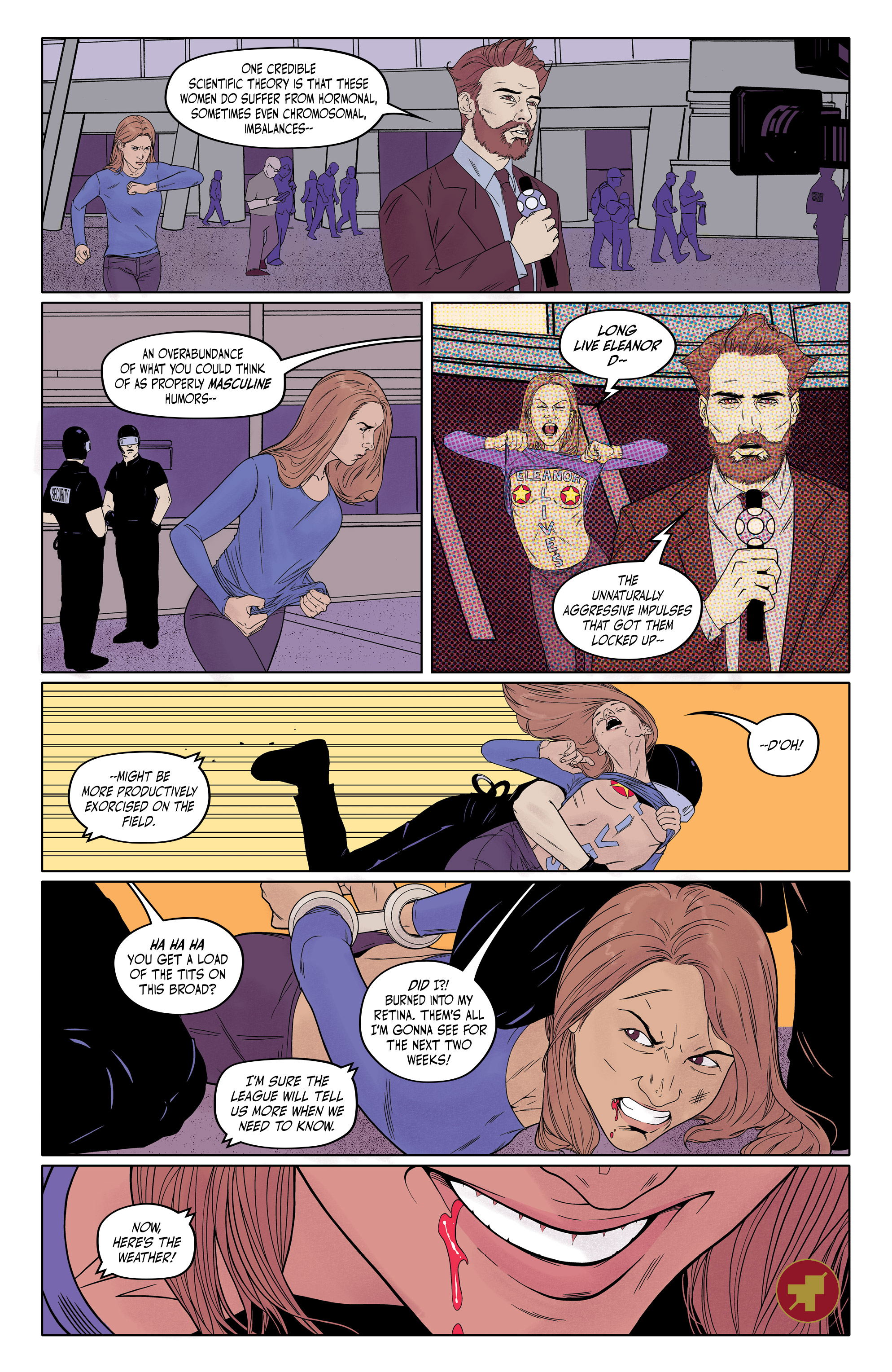 Read online Bitch Planet: Triple Feature comic -  Issue #1 - 26