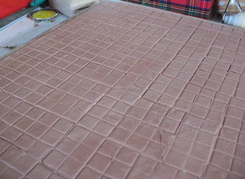 Floor Tiles Painting Floor Tiles