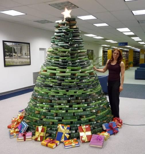 Medical Christmas Tree: Tarleton Libraries: Bound