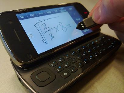 handwriting calculator symbian 9.4