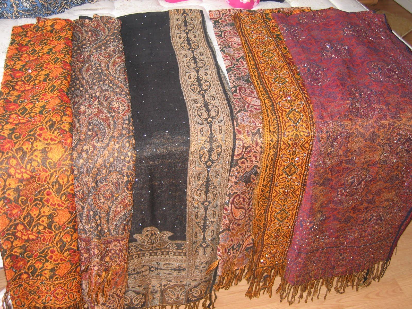 Pak Creations: Pashmina Shawls (Warm and beautiful)