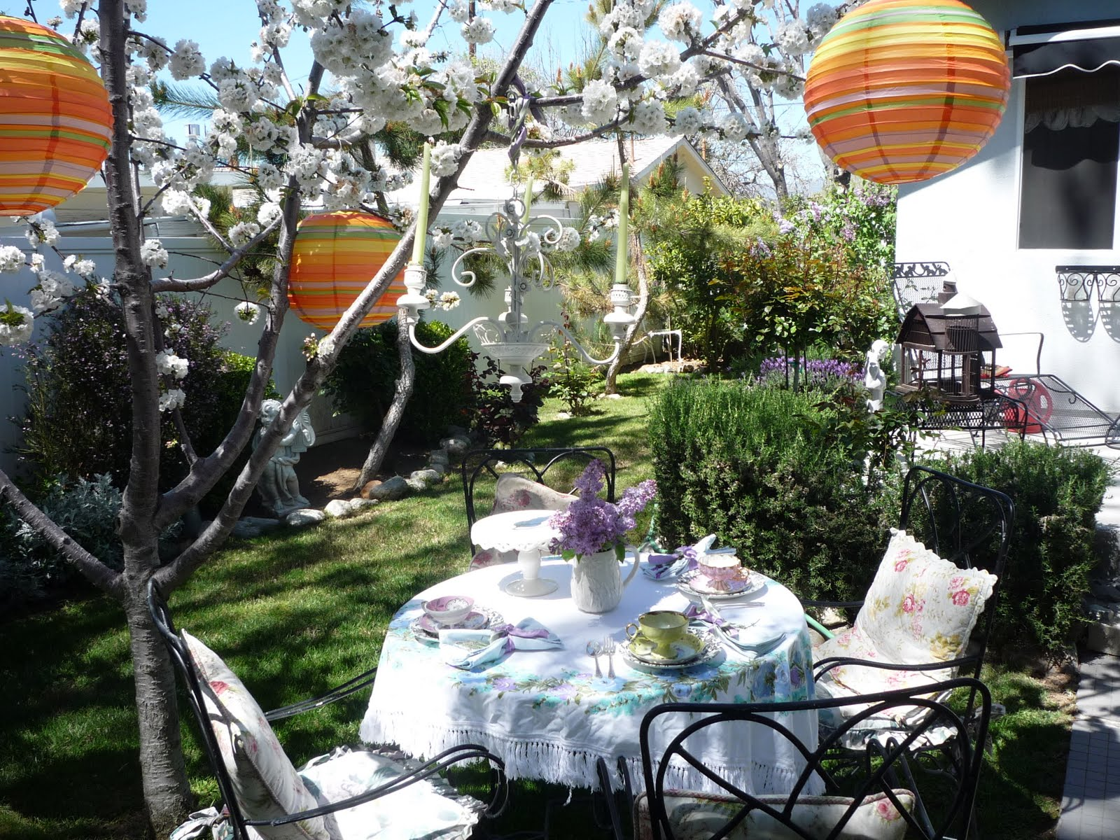 tea and cherry blossoms the gardener u0027s cottage
